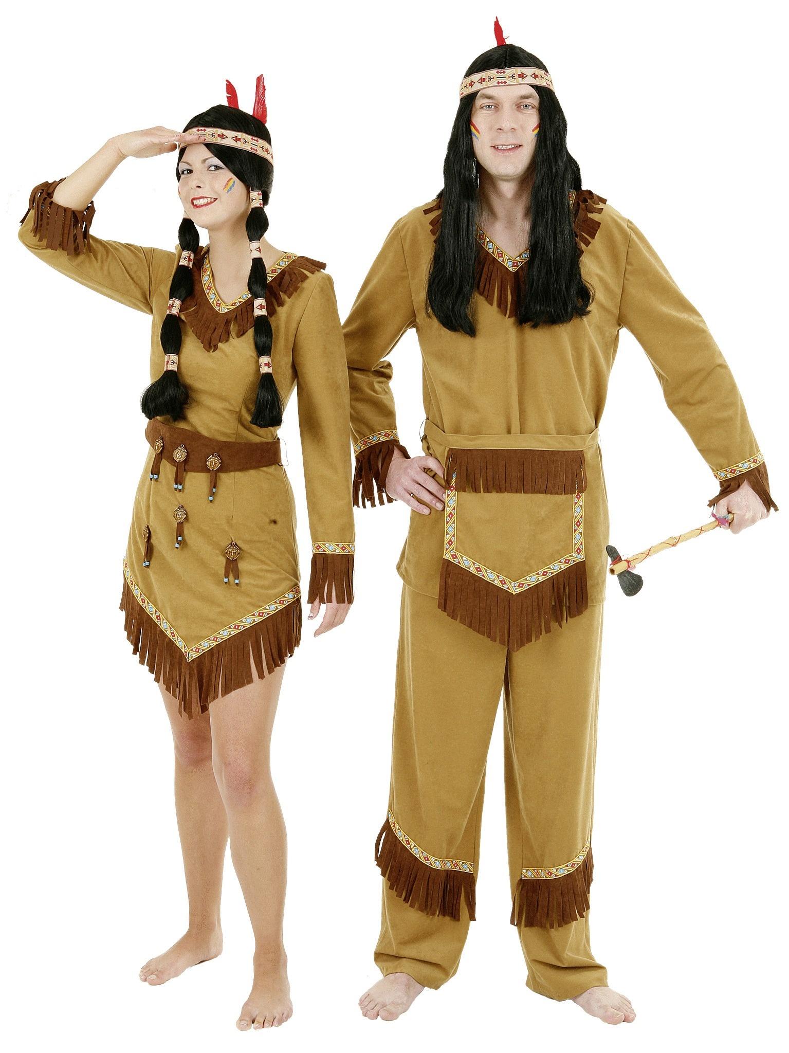 indianer kleid damen