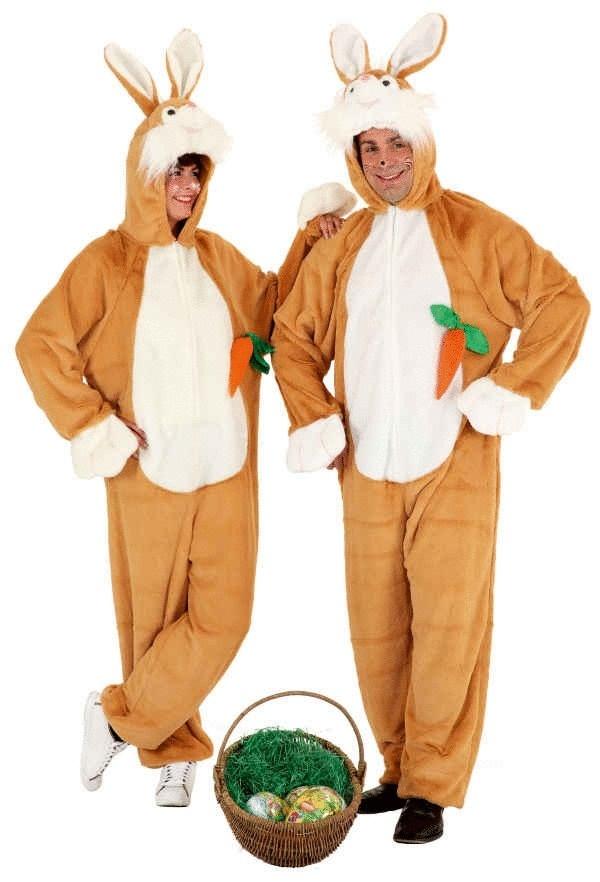 Outlet Store Verkauf großartiges Aussehen Bestseller einkaufen Hasenkostüm braun für Erwachsene Kostüme Erwachsene, Body ...