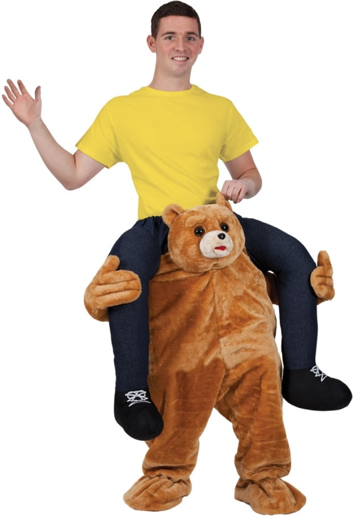 carry me kost m tedd der b r kost me erwachsene tiere body tutu umhang carry me huckepack