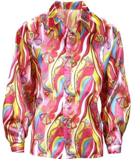 70er jahre hemd disco fox kost 252 me erwachsene umhang hemde shirts blusen tops