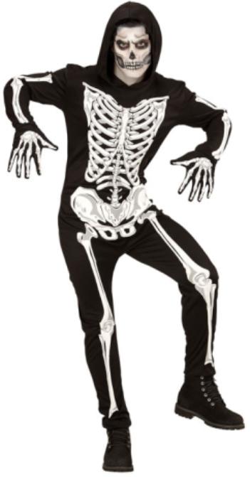 skelett kost m kost me erwachsene body umhang kost me f r herren. Black Bedroom Furniture Sets. Home Design Ideas