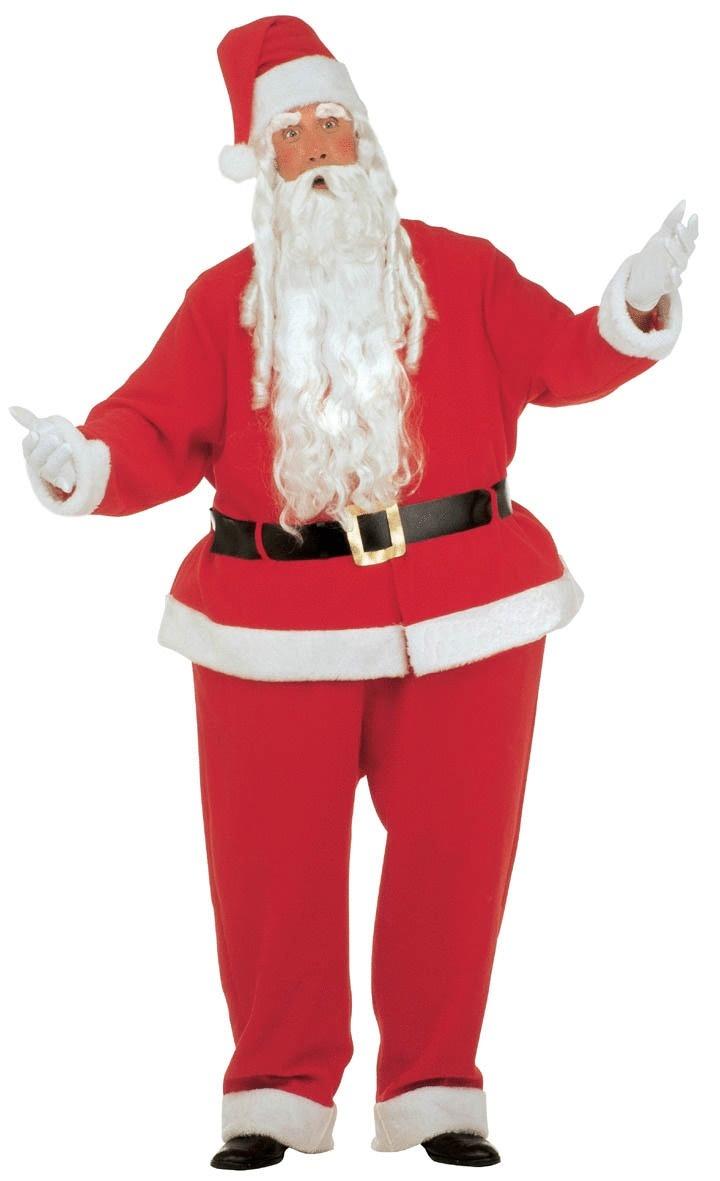 OppoSuits Gangstaclaus Anzug mit Krawatte Weichnachten Weihnachtsmann